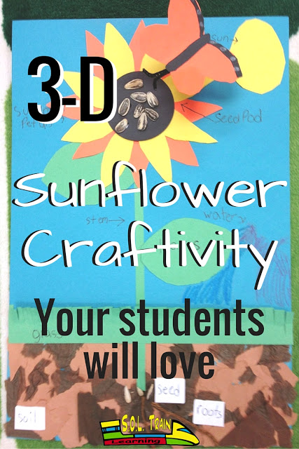 Sunflower Activity and Plant FREEBIE! - SOL Train Learning