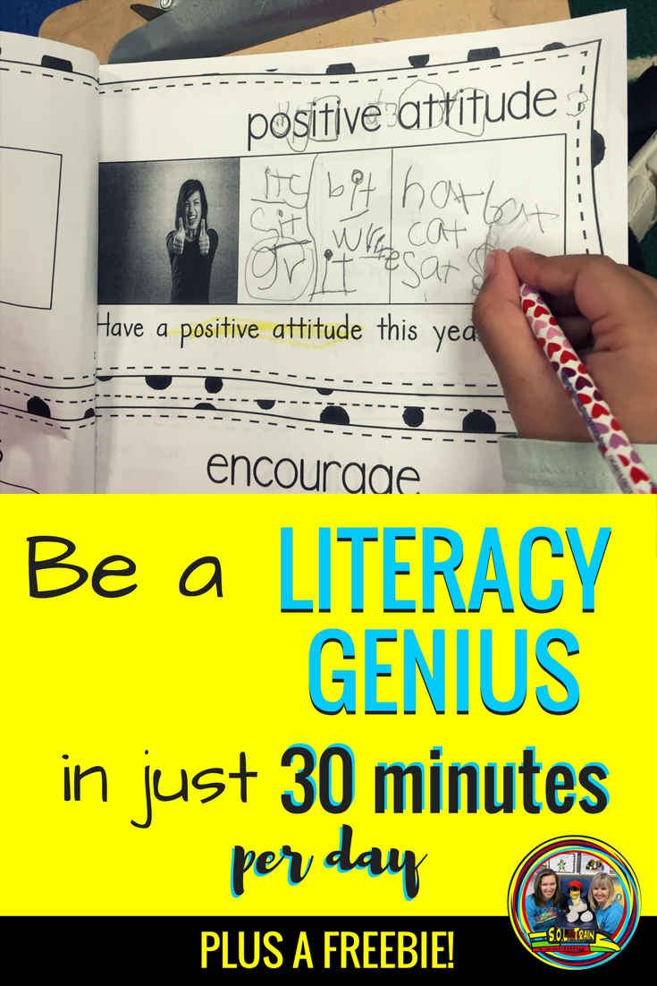 Be A Literacy Genius In Just 30 Minutes Per Day Sol