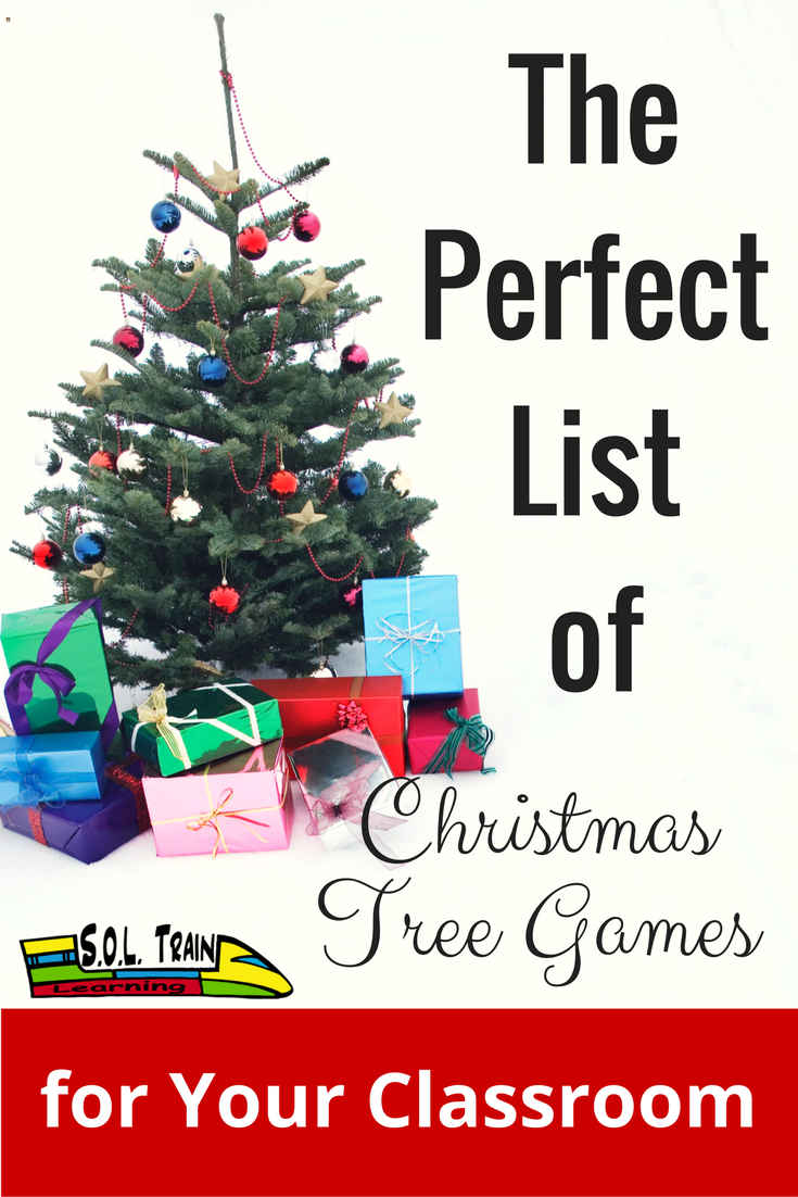 the perfect list of christmas tree games for your classroom