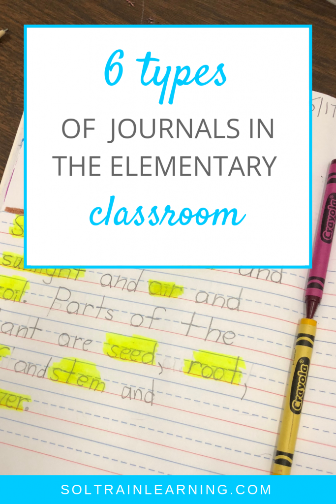 6 different types of journals