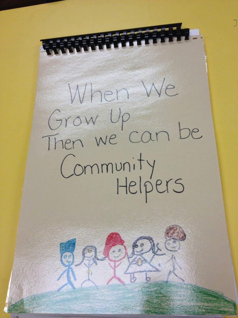 Community Helper Big Book