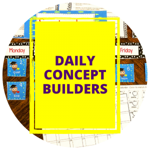 Daily Concept Builders