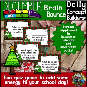 December Brain Bounce Game