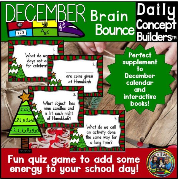 December Brain Bounce Game