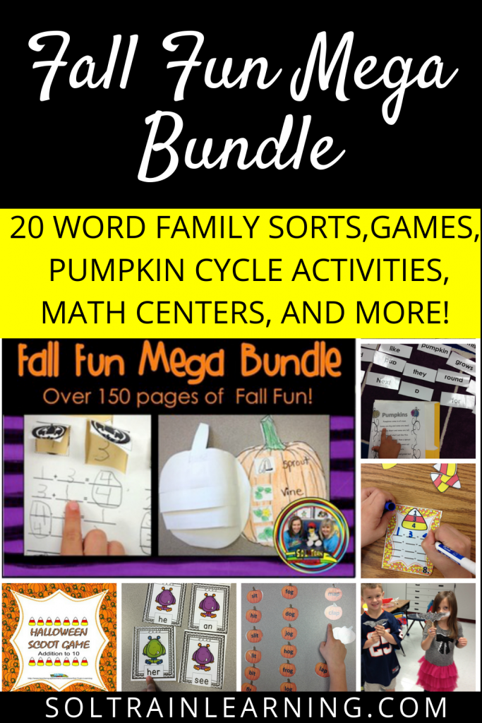 Fall Math and ELA activities
