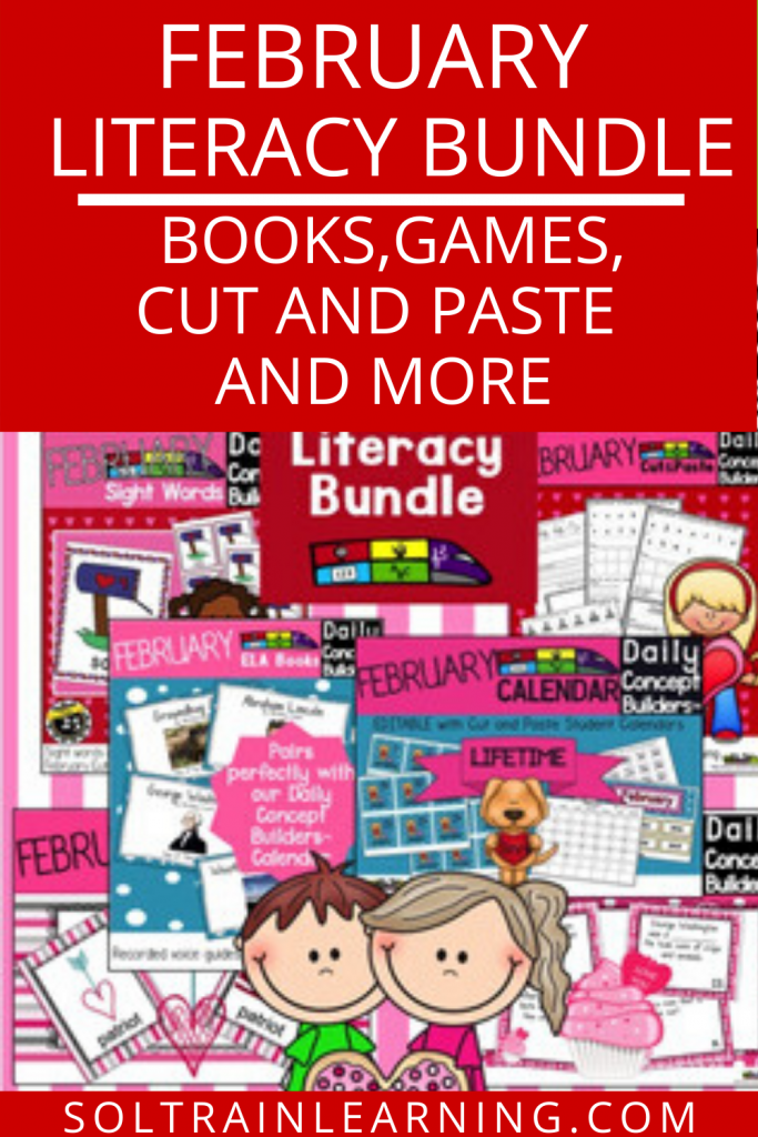 February Literacy Resources