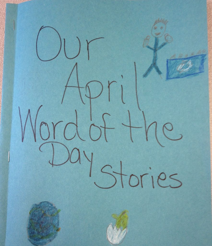 Stories students wrote using content-area vocabulary