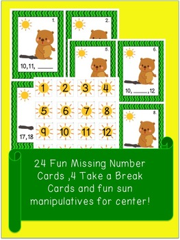 Groundhog Scoot Math Game