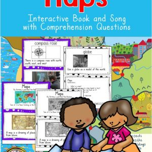 Maps Vocabulary Book with Questions