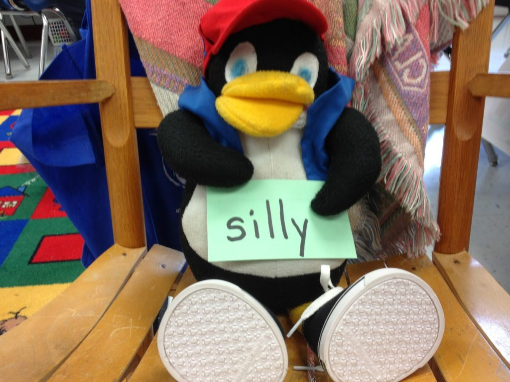 picture of our penguin class mascot