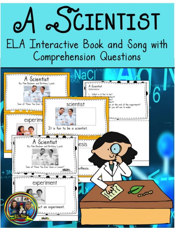 this book is about the scientific method and includes questions.
