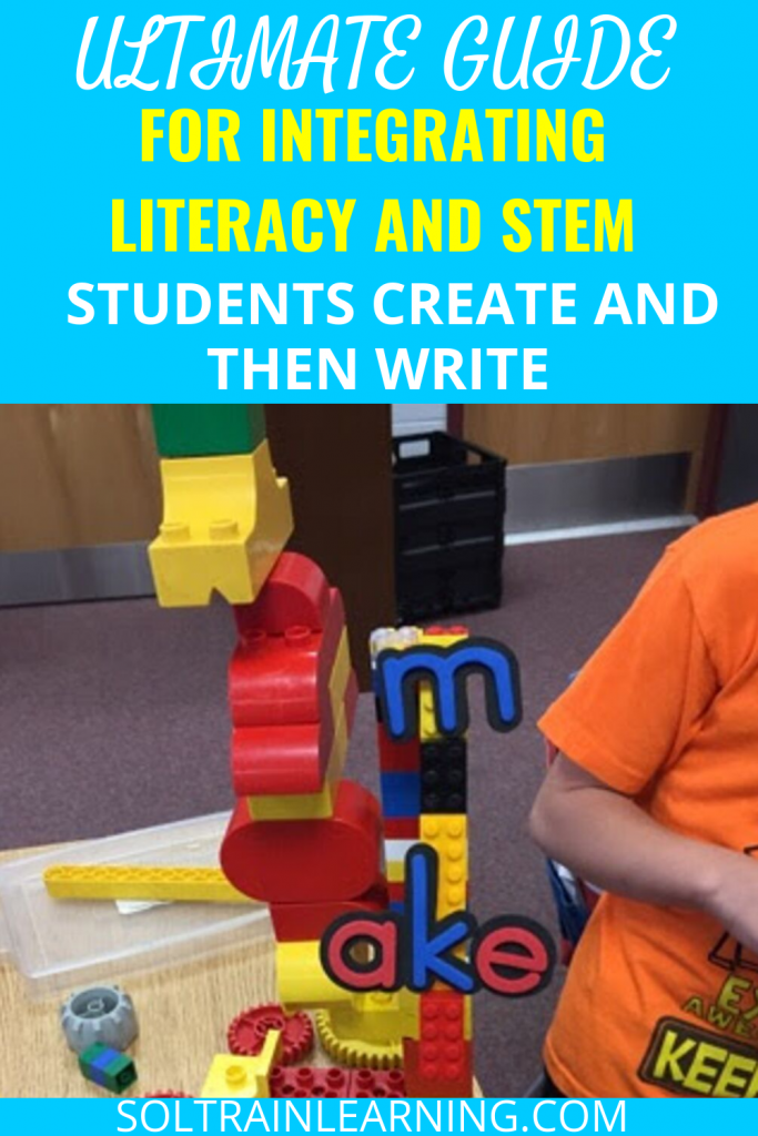 students doing STEM and Literacy